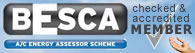 BESCA Certified & Accredited Member - Click here for more info